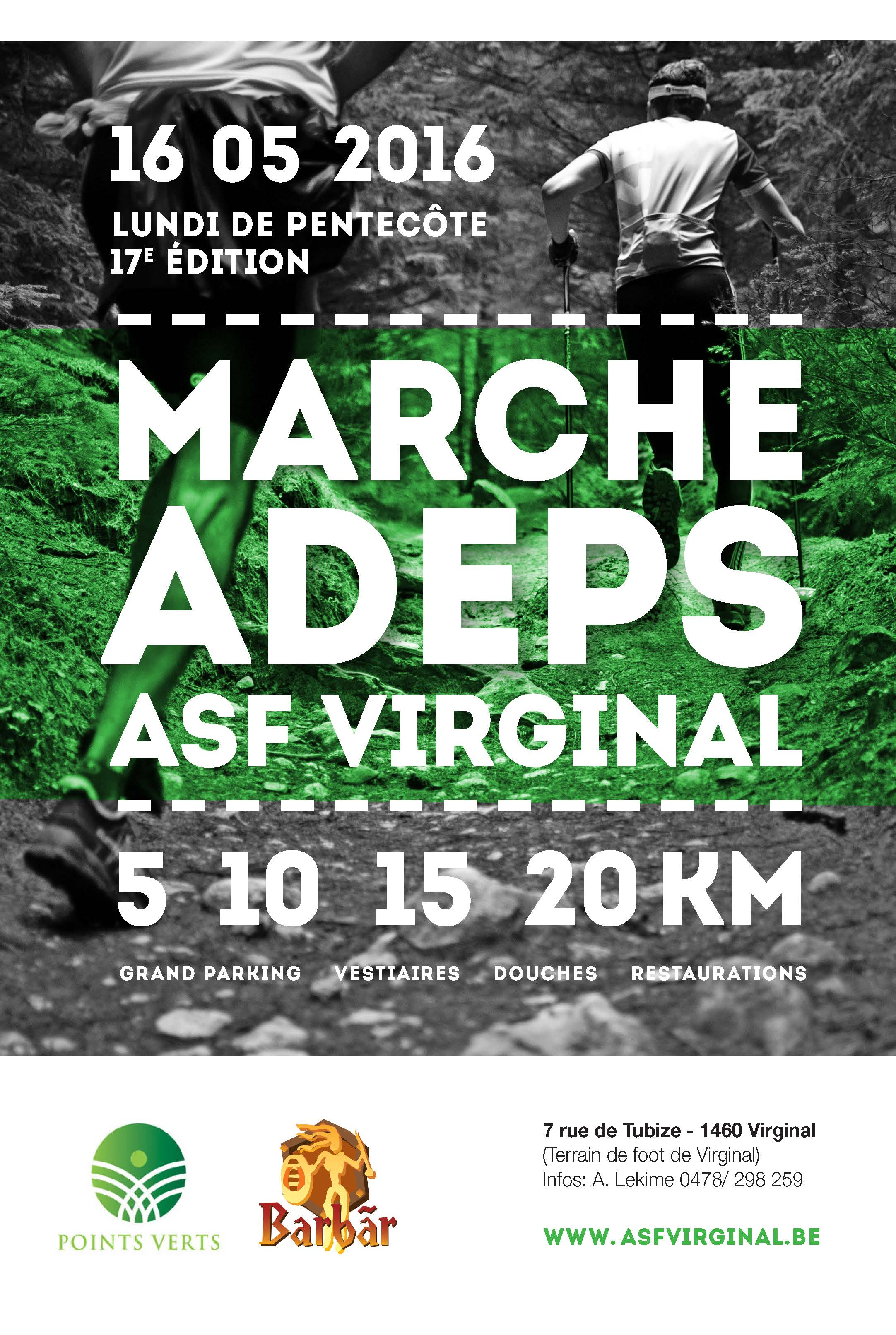 Marche ADEPS 2016